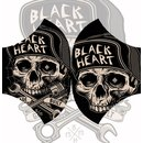 Blackheart mask Garage Built