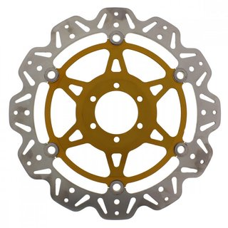 Brake disk front for Ducati 749 (03-07), 999 (03-06) colored